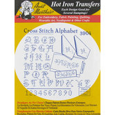 Cross Stitch Alphabet Embroidery Transfer Pattern